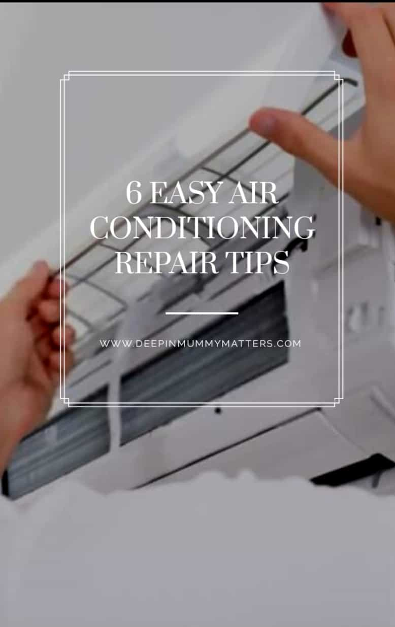 6 Easy Air Conditioning Repair Tips 1