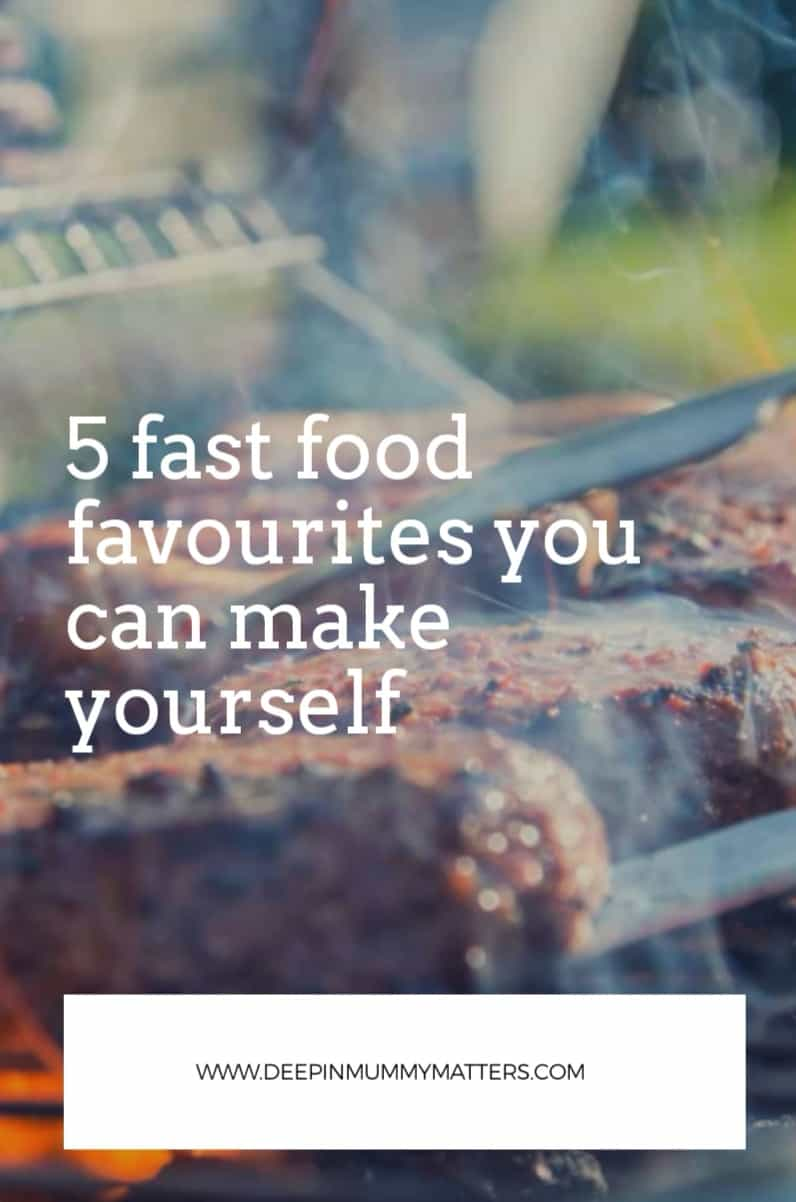 5 Fast Food Favorites You Can Make Yourself 1