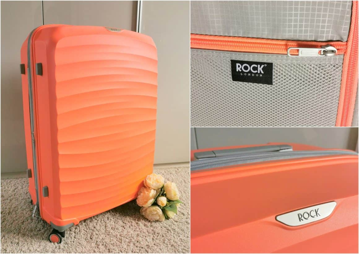 Rock Luggage Hard Shell Luggage Review 1