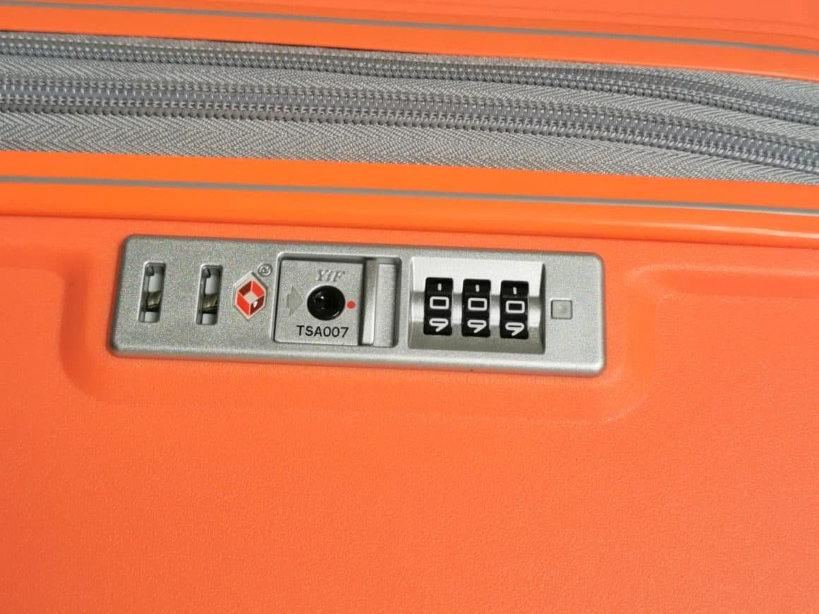 Rock Luggage Hard Shell Luggage Review 4