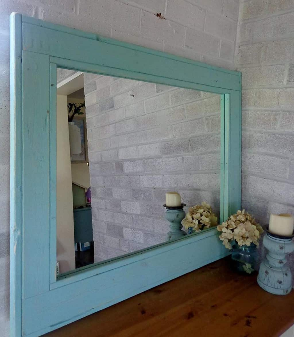 Add Class and Beauty With Large Framed Bathroom Mirrors