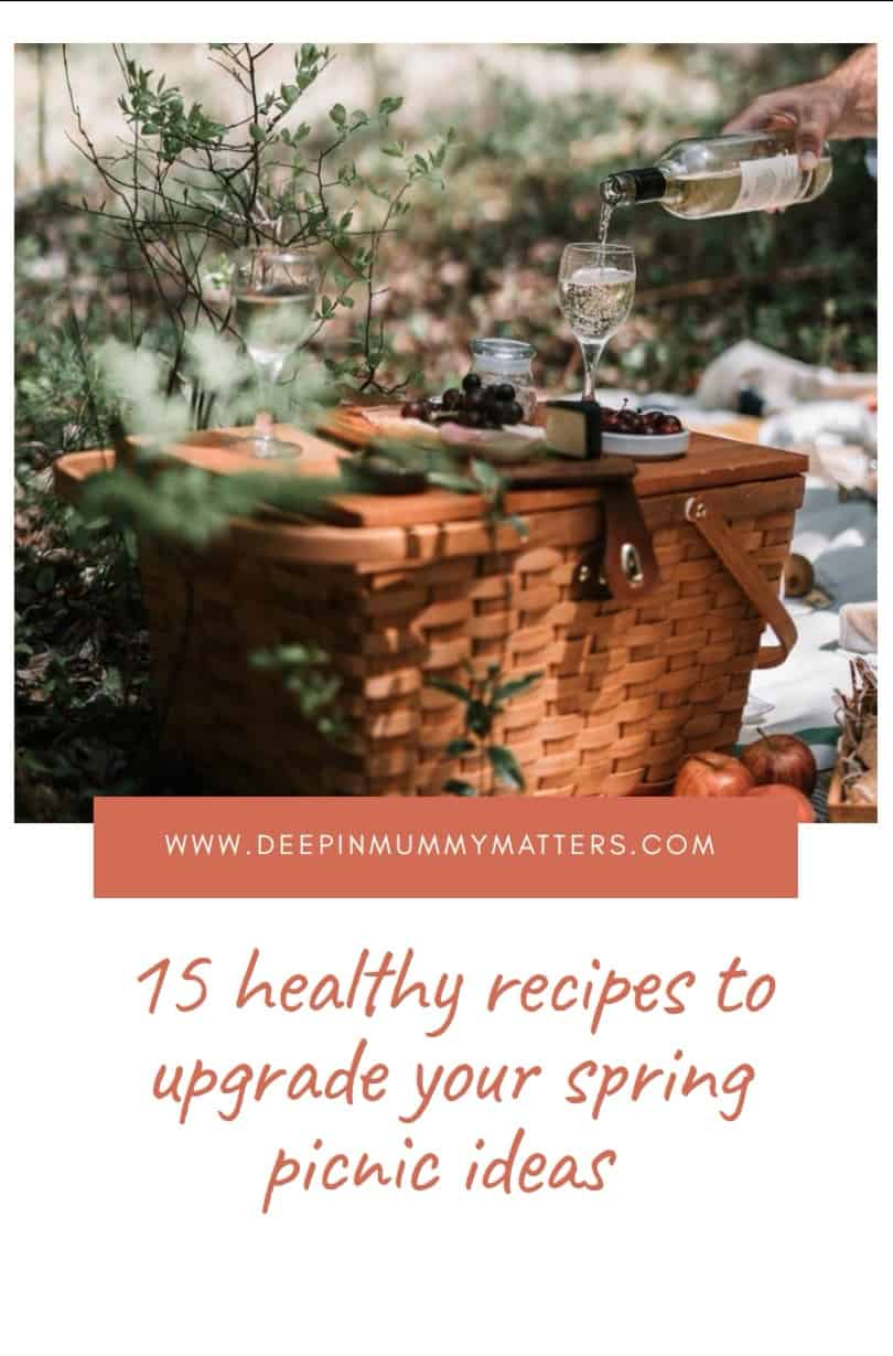 15 Healthy Recipes To Upgrade Your Spring Picnic Ideas 1