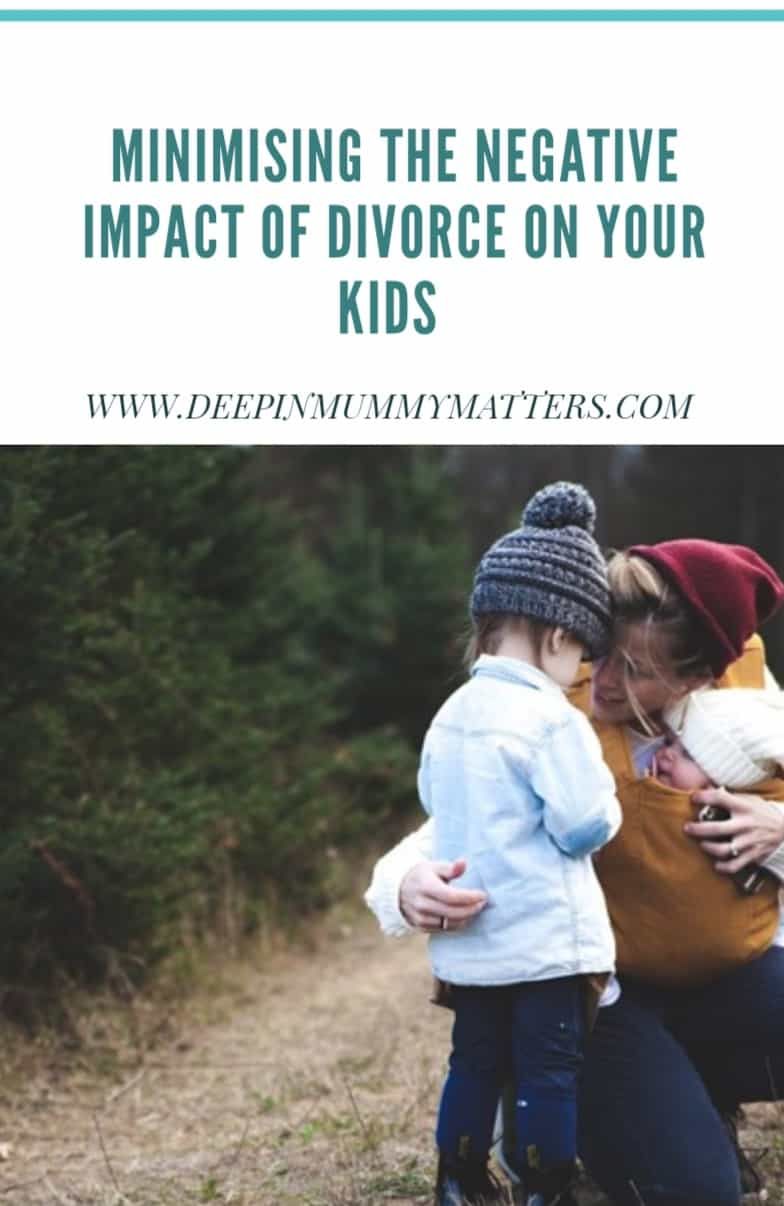 Minimising the Negative Impact of Divorce on Your Kids 1