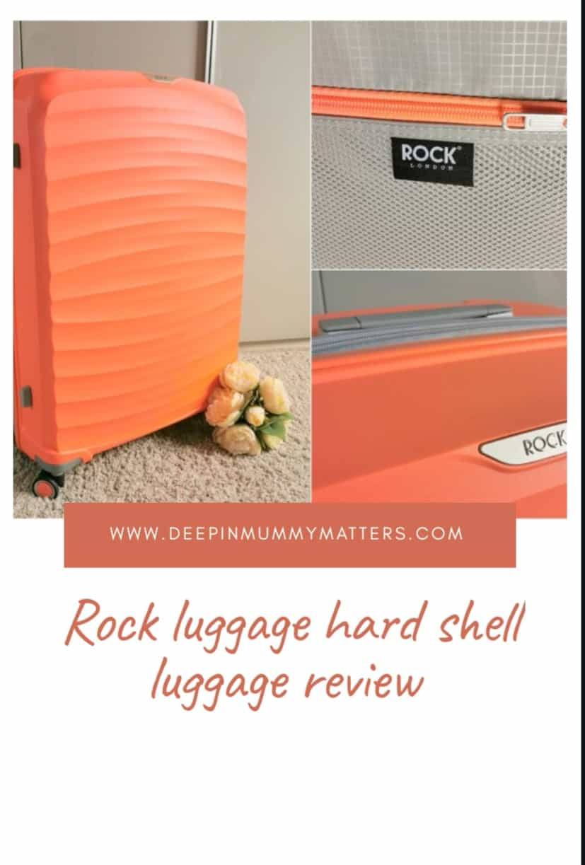 Rock Luggage hard shell luggage review