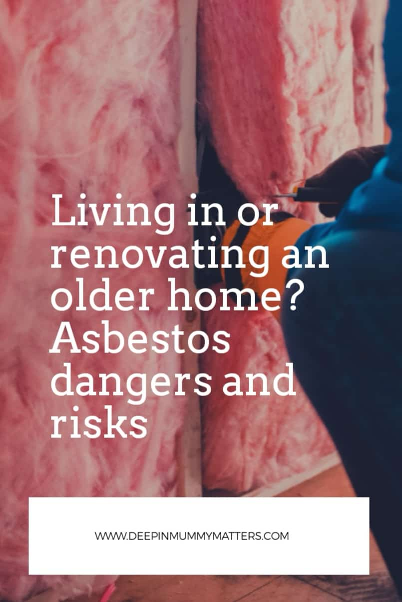 Living in or Renovating an Older Home? Asbestos Dangers and Risks 1