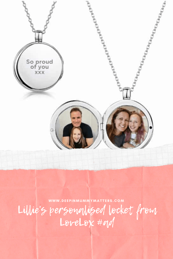 Lillie's Personalised Locket from LoveLox #ad 2