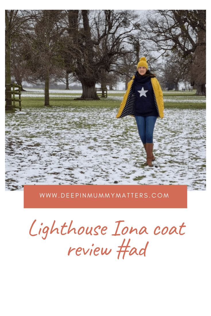 Lighthouse Iona Coat Review #ad 2
