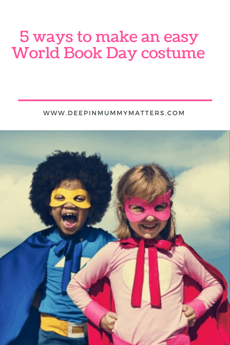 5 ways to make an easy World Book Day costume 1