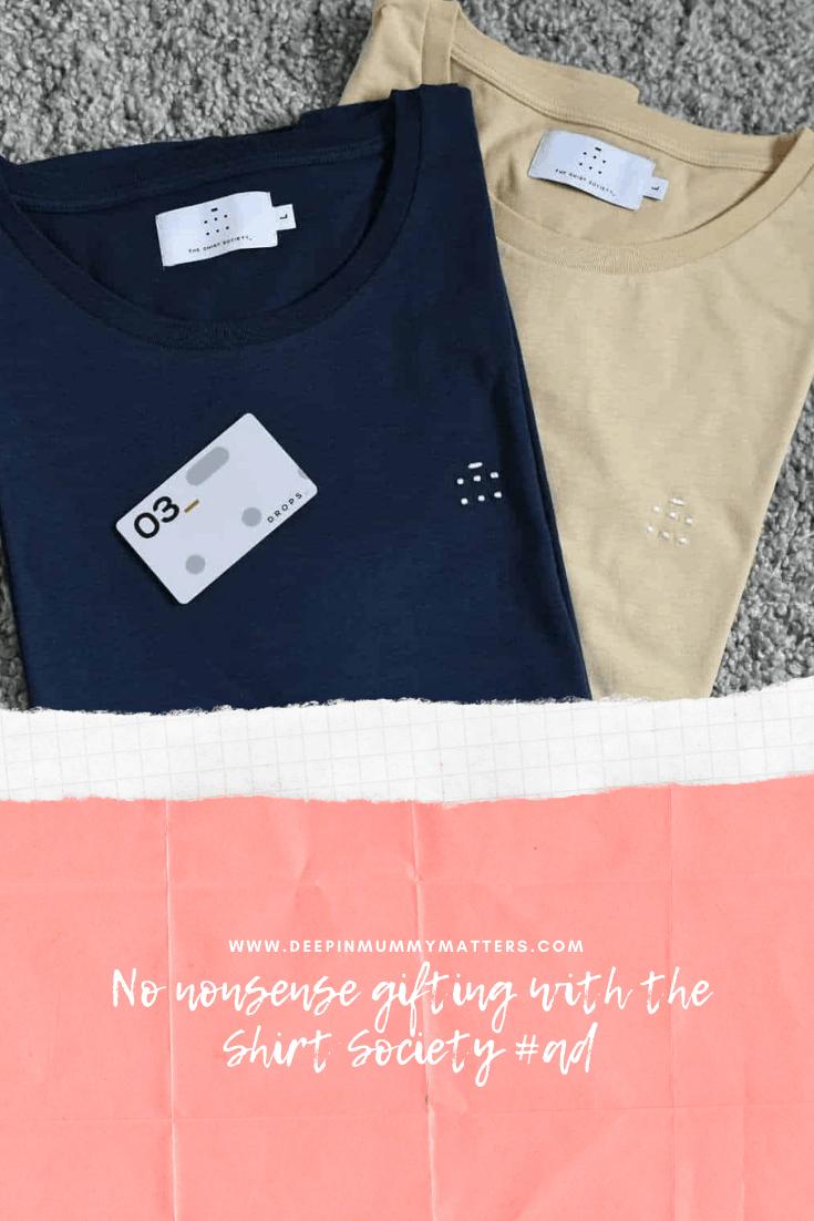 No Nonsense Gifting with The Shirt Society #ad 5