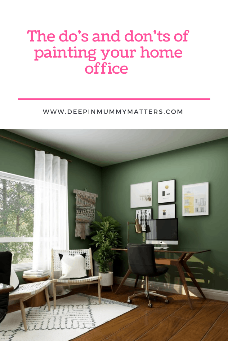 The Do's & Don'ts of Painting Your Home Office 1