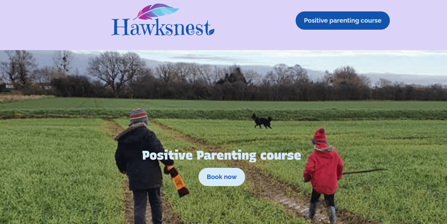 Hawksnest Positive Parenting Course starts this week!