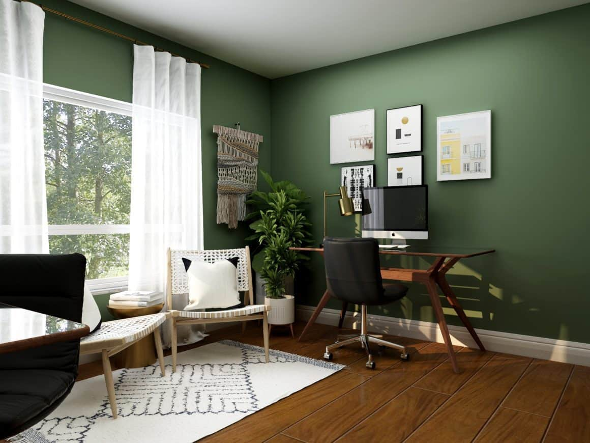 The Do's & Don'ts of Painting Your Home Office