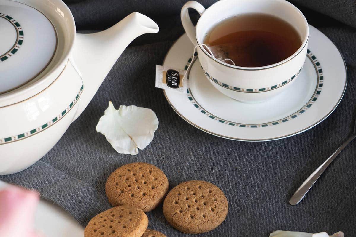 What is a tea break without the perfect biscuit?