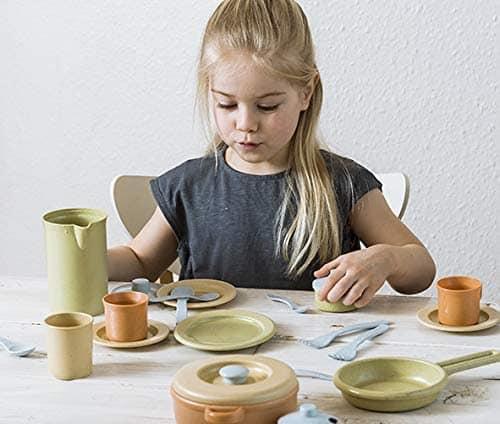 #WIN Dantoy Bio-Toy Pretend Play Dinner Set