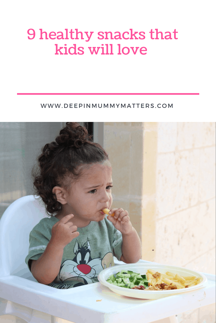 9 Healthy Snacks that Kids will Love 1