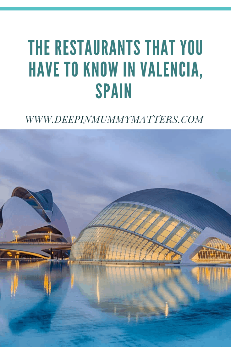 The restaurants that you have to know in Valencia, Spain 3