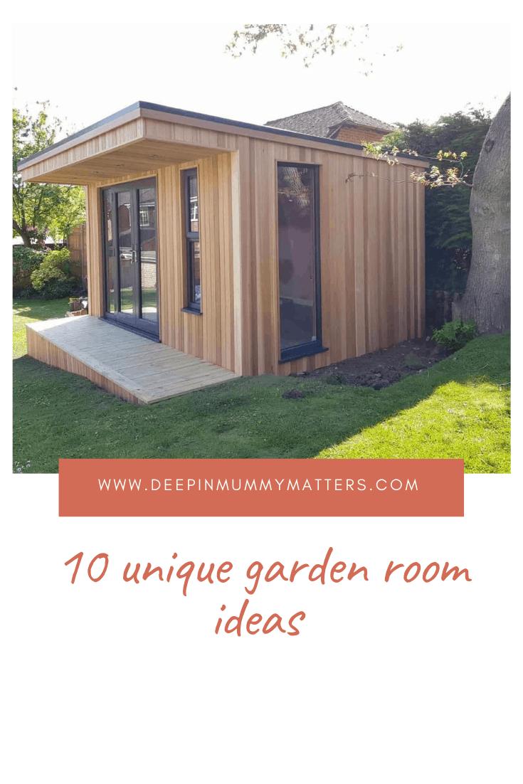 10 Unique Garden Room Ideas 1