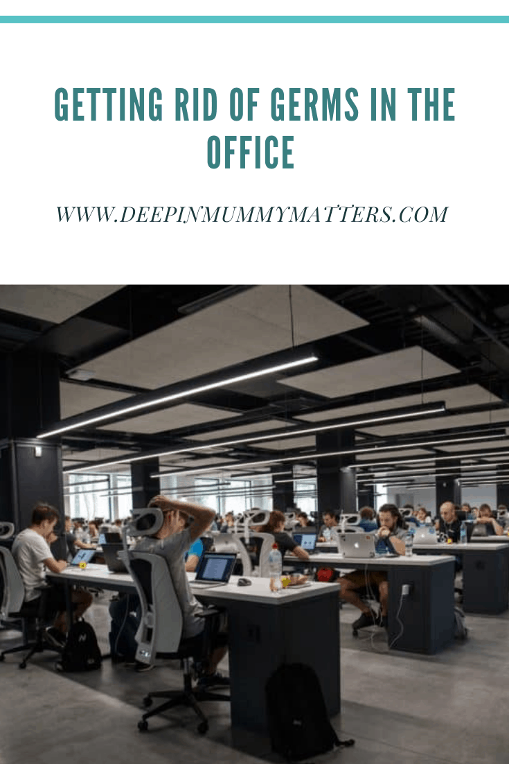 Getting Rid of Germs in the Office 1