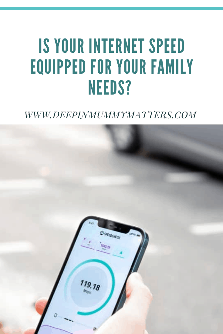 Is your Internet Speed Equipped For Your Family Needs? 2
