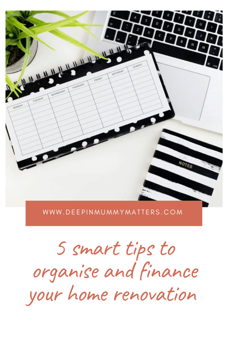 5 Smart Tips to Organise and Finance Your Home Renovation 7