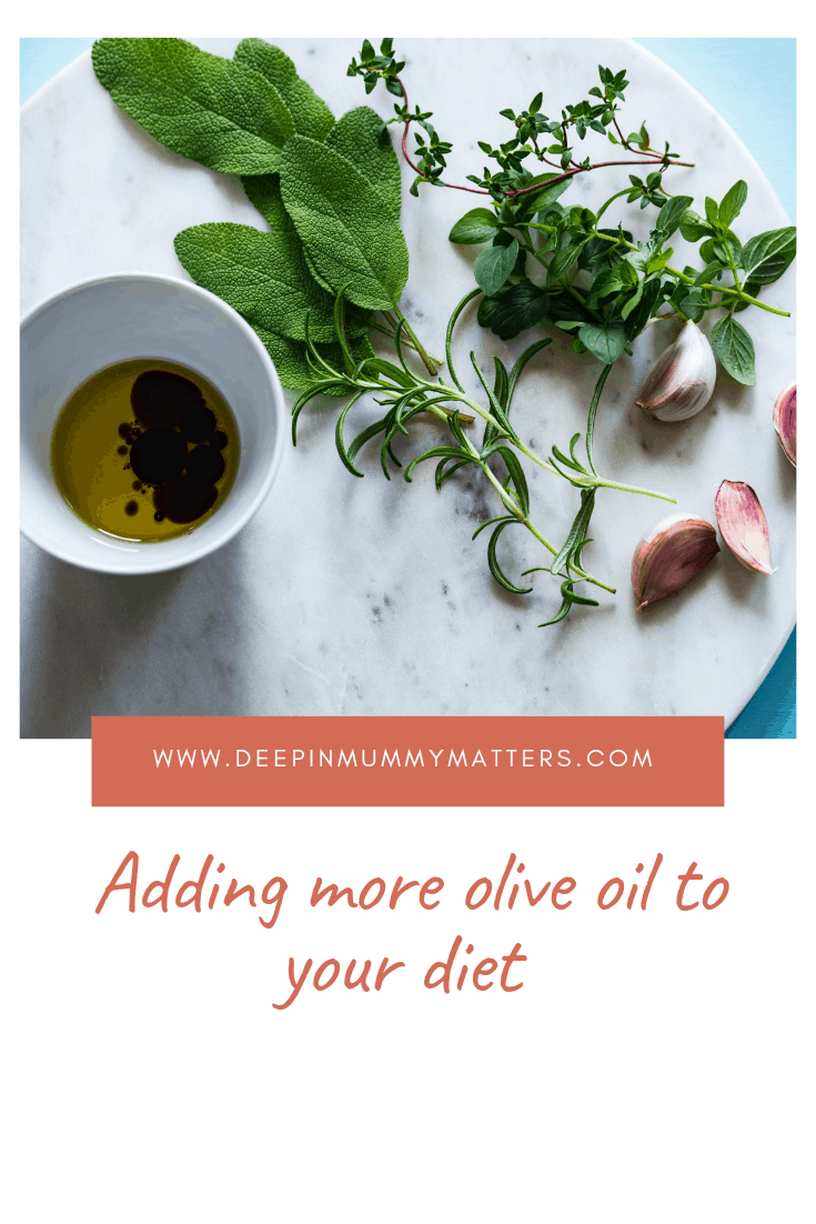 Adding More Olive Oil to your Diet 1