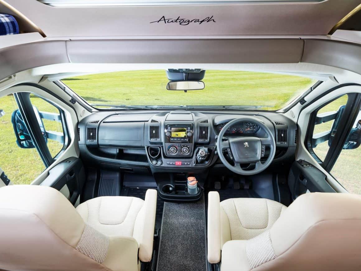 Bailey Motorhome Cab