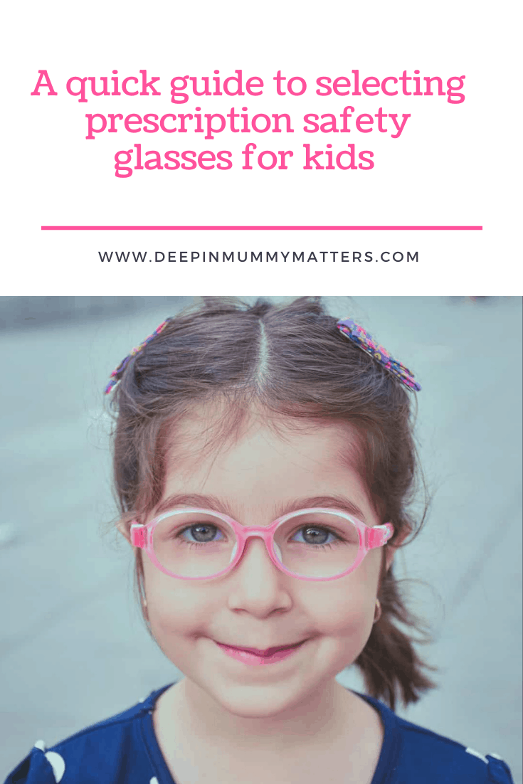 A Quick Guide To Selecting Prescription Safety Glasses for Kids 1