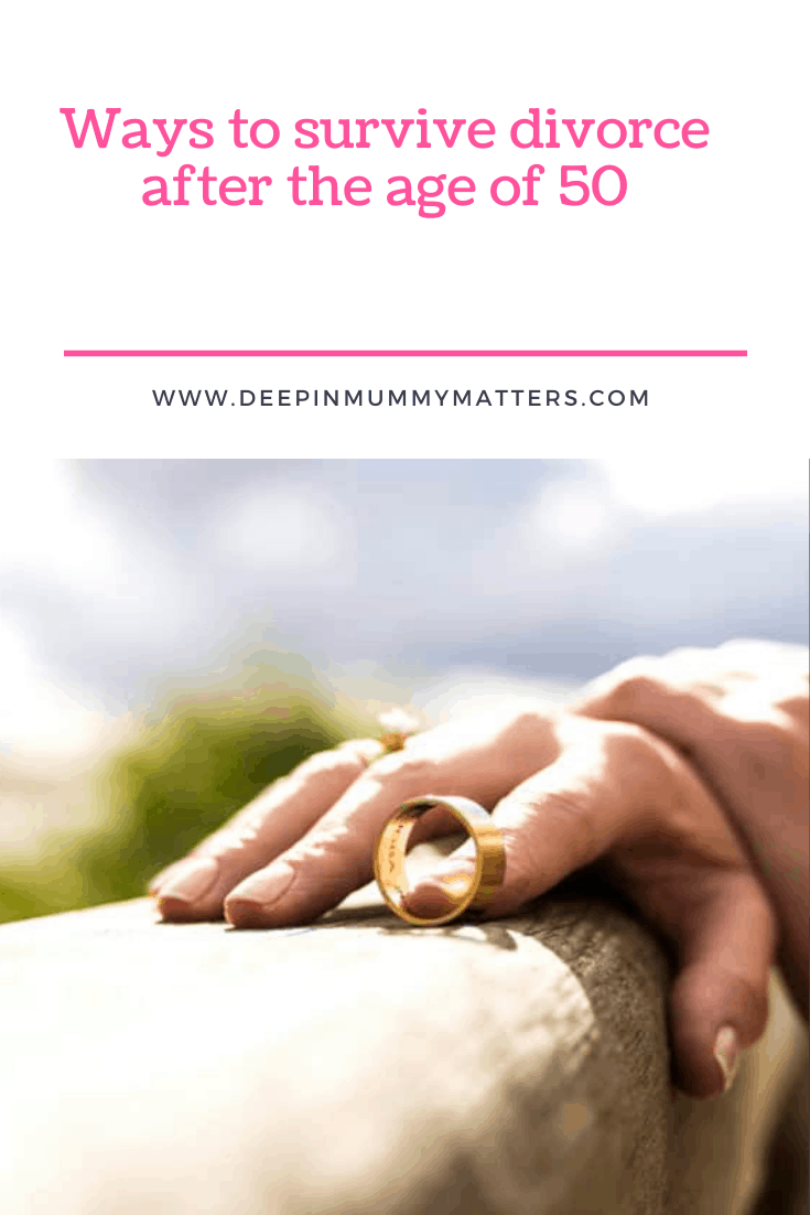Ways to Survive Divorce after the Age of 50 1