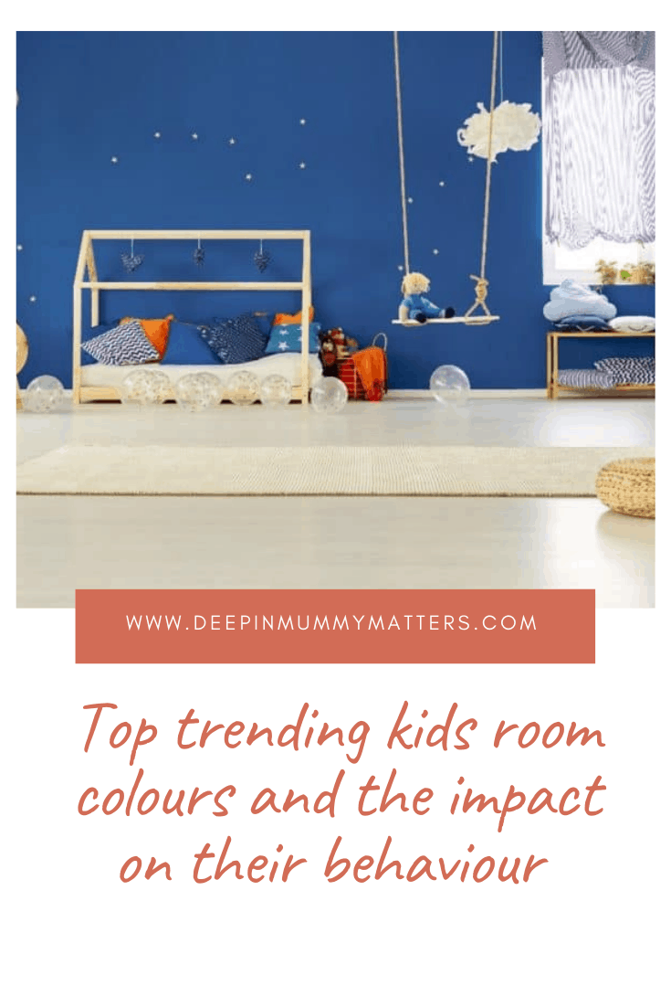 Top Trending Kids' Room Colours and the Impact on Their Behavior 1
