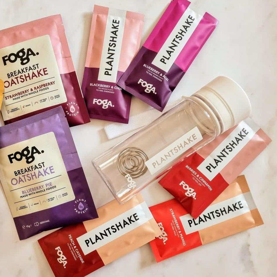FOGA Plantshakes - Instant Plant Based Smoothies #ad