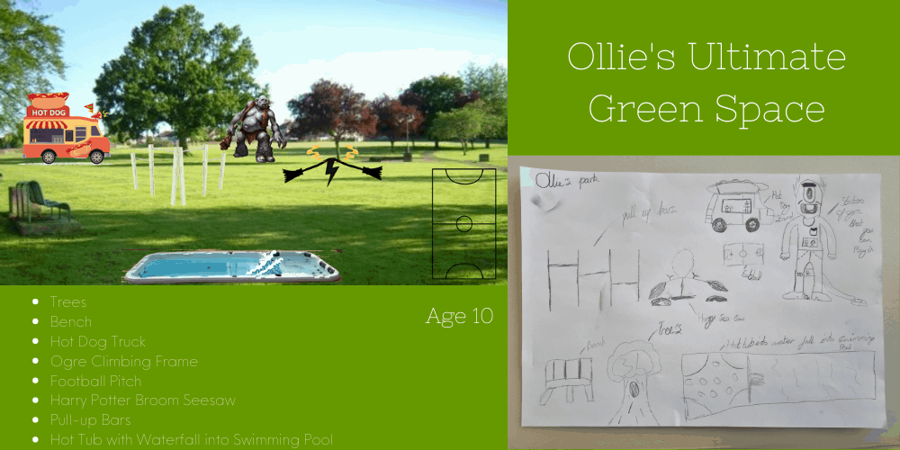 Share your kids' Ultimate Green Space with Regatta
