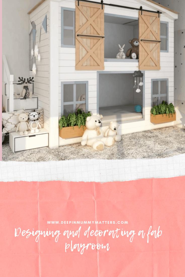 Designing and Decorating a Fab Playroom 1