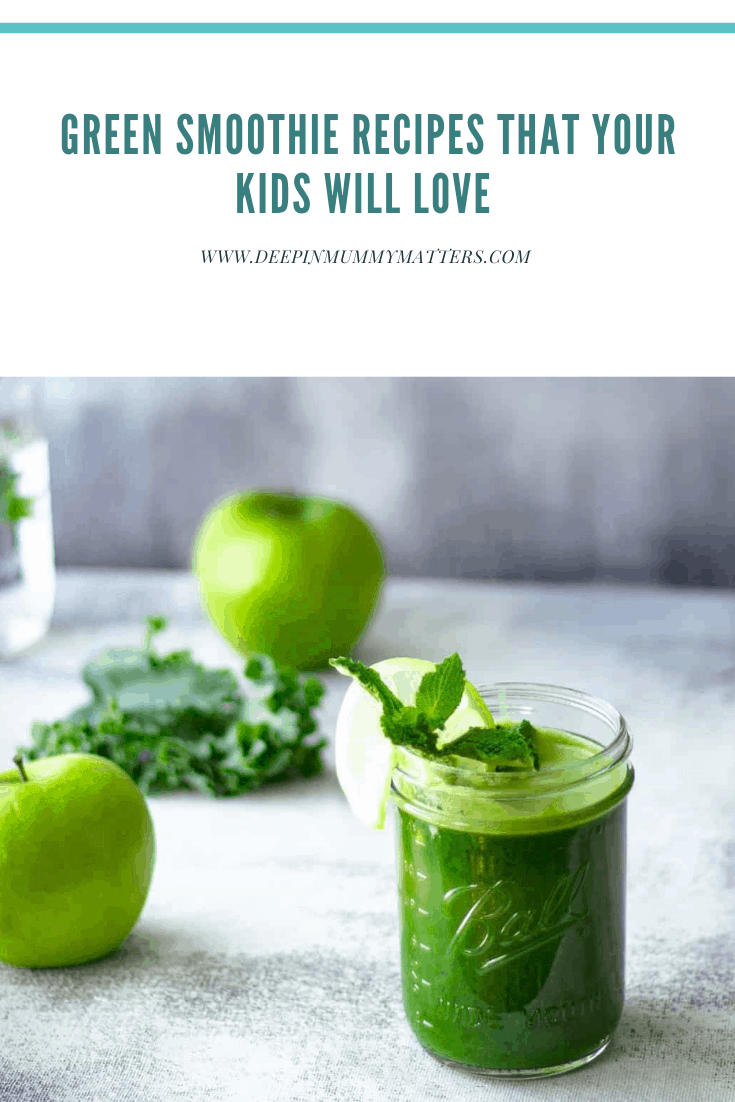 Green Smoothie Recipe That Your Kids Will Love! 1