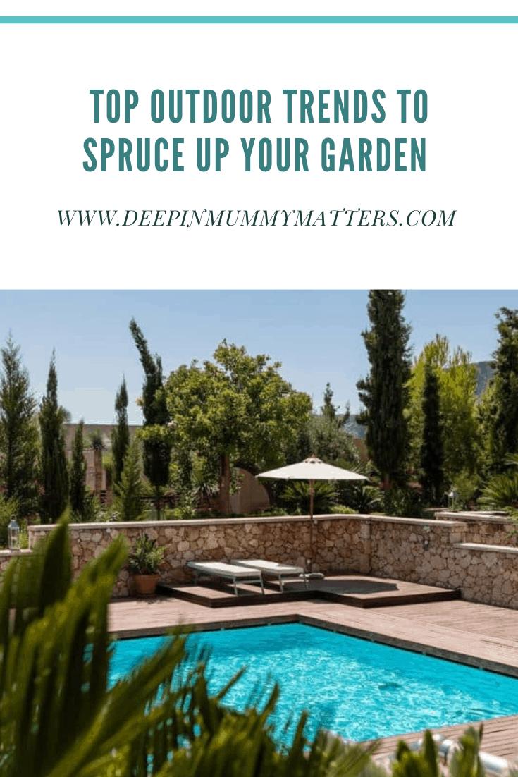 Top outdoor trends to spruce up your garden 1