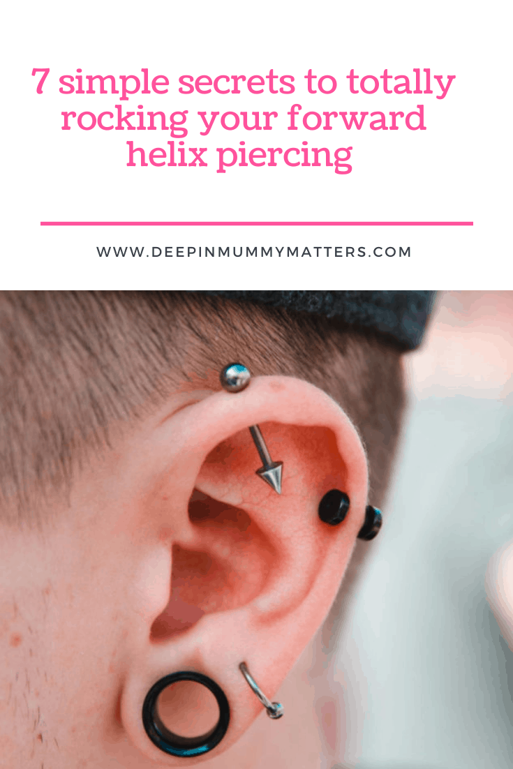7 Simple Secrets to Totally Rocking Your Forward Helix Piercing 1