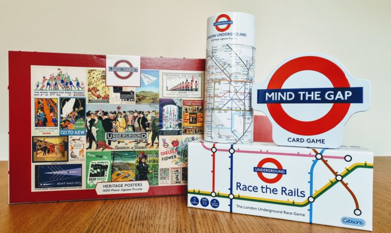All Aboard for a Gibsons Games Giveaway