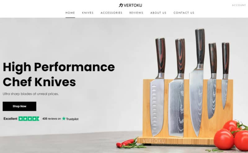 Vertoku Knives: A Must-Have Knife Set for Chefs