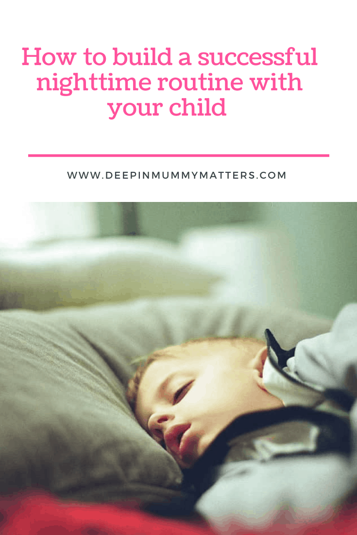 How to build a successful nighttime routine with your child 3