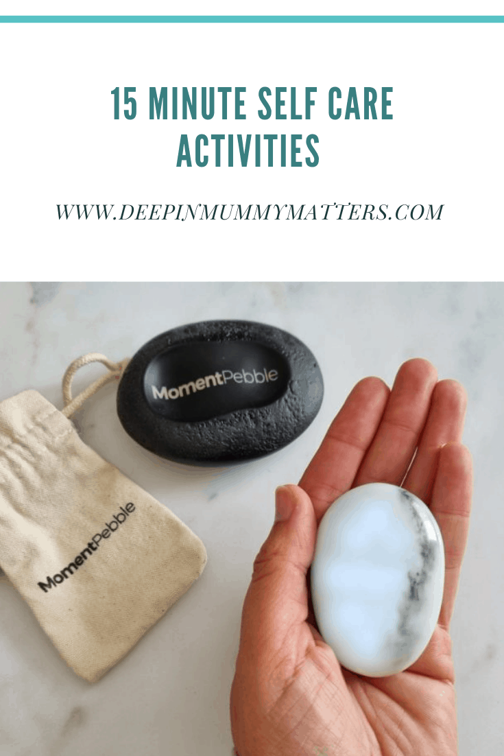 15 Minute Self Care Activities plus GIVEAWAY! 3