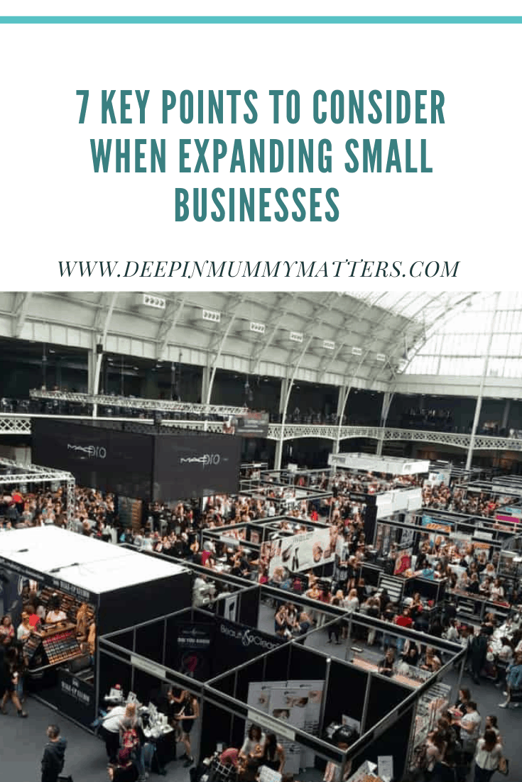 7 Key Points To Consider When Expanding Small Business 3