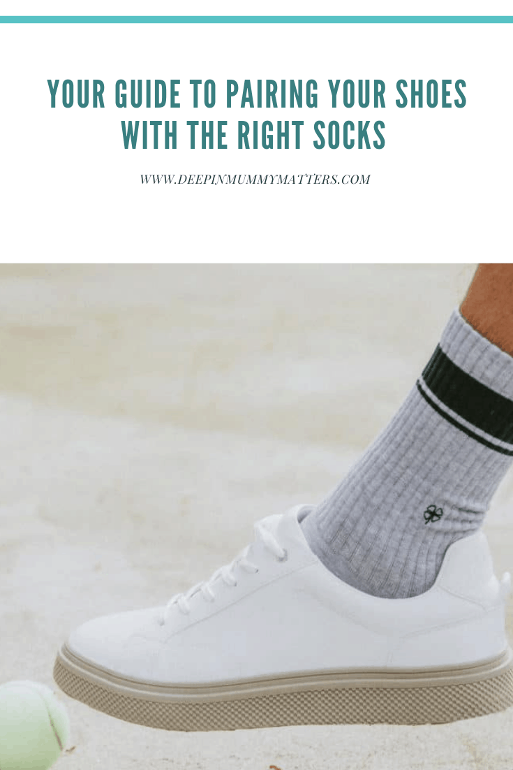 Your Guide to Pairing Your Shoes with the Right Socks 1