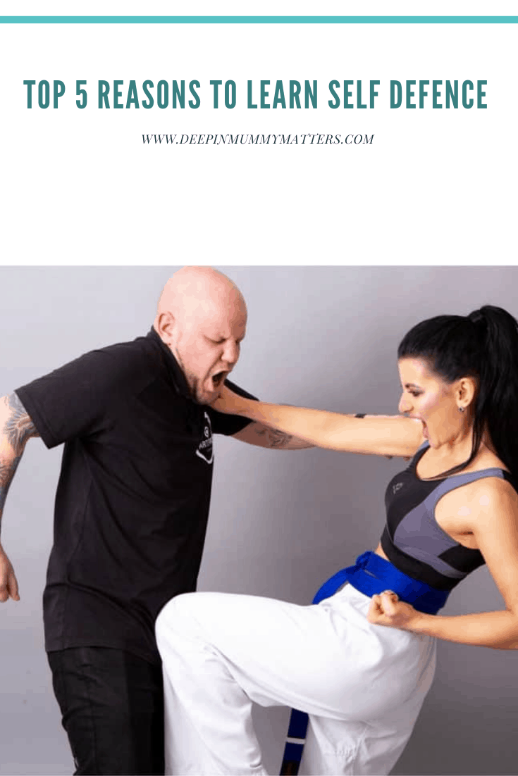 Top 5 Reasons to Learn Self-Defence 1