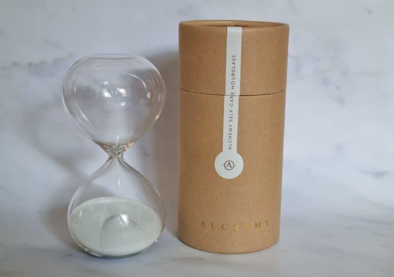 Alchemy Self Care Hourglass