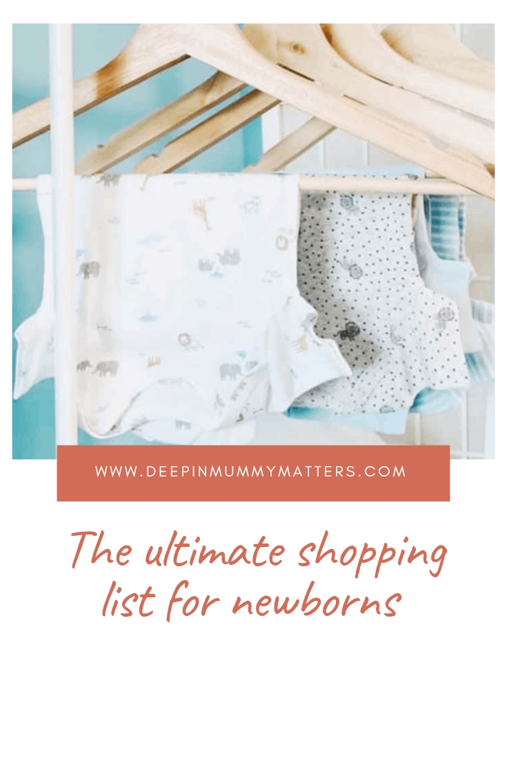 The Ultimate Shopping List for Newborns 2