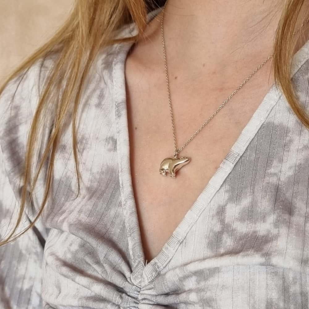 Jana Reinhardt Animal Jewellery - Polar Bear Necklace