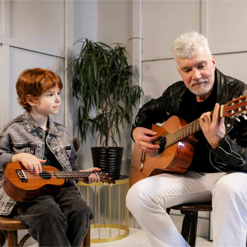 Parents to Support Their Child's Guitar Playing