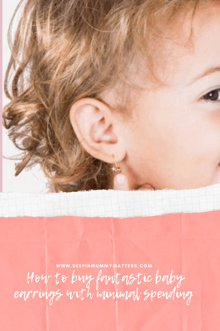 How To Buy Fantastic Baby Earrings With Minimal Spending 1