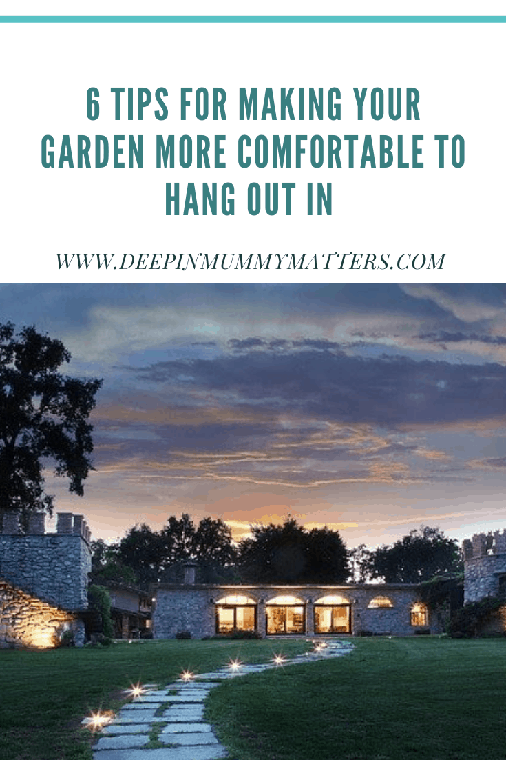 6 Tips For Making Your Garden More Comfortable To Hang Out In 1