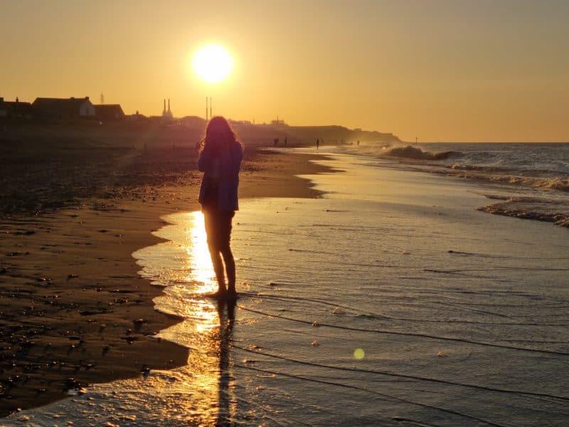 Bacton Sunset