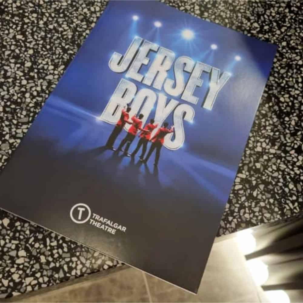 Jersey Boys Date Night at the Trafalgar Theatre